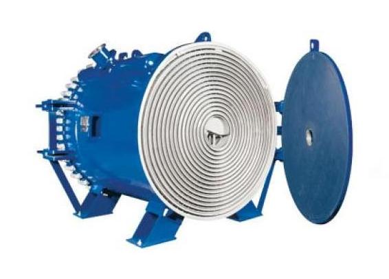 Спиральный теплообменник теплообменник мазда титан двигатель ha