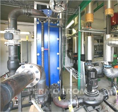 Теплообменник системы отопления Термопром