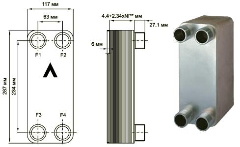 Паяный пластинчатый теплообменник SWEP E8T Саранск Пластинчатый разборный теплообменник SWEP GX-85P Анжеро-Судженск