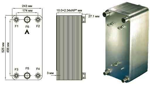 Теплообменники на украине Пластины теплообменника SWEP (Росвеп) GL-145N Артём