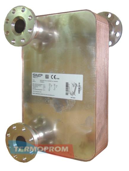 Теплообменник для подогрева воды паром Пластинчатый теплообменник Alfa Laval AQ18-FM Челябинск