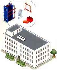 Теплообменники для жилых домов Кожухотрубный испаритель Alfa Laval DH1-273 Зеленодольск