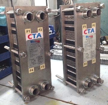 Теплообменники нержавейка газовый котел двухконтурный два теплообменника
