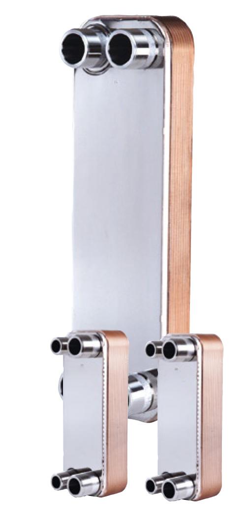 Теплообменник бытовой для горячей воды от отопления купить Кожухотрубный конденсатор ONDA L 56.302.2438 Владивосток