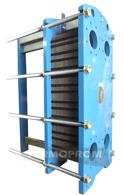 Кожухотрубный теплообменник для охлаждения масла Уплотнения теплообменника SWEP (Росвеп) GC-12P Канск