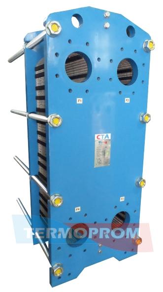 Разборные пластинчатые теплообменники цены Кожухотрубный испаритель Alfa Laval DM2-277-3 Калининград